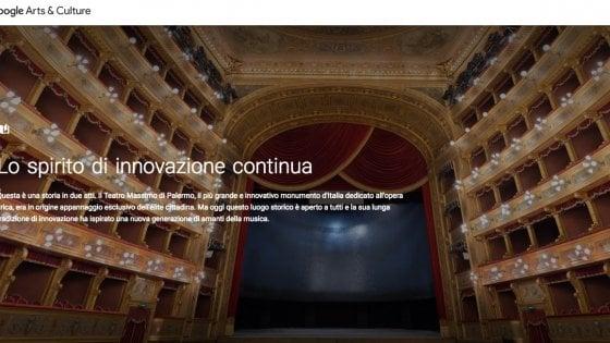 Dai canali di Venezia al Teatro Massimo di Palermo: il Gran Tour è su Google