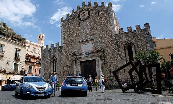Ufficio H Via Taormina Palermo : Taormina blindata per il g limitazioni al traffico e piano