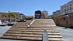 Prende forma il primo SkatePark  di fronte al Tribunale di Palermo  di TULLIO FILIPPONE