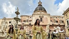 Palermo, il gran ballo lungo il Cassaro