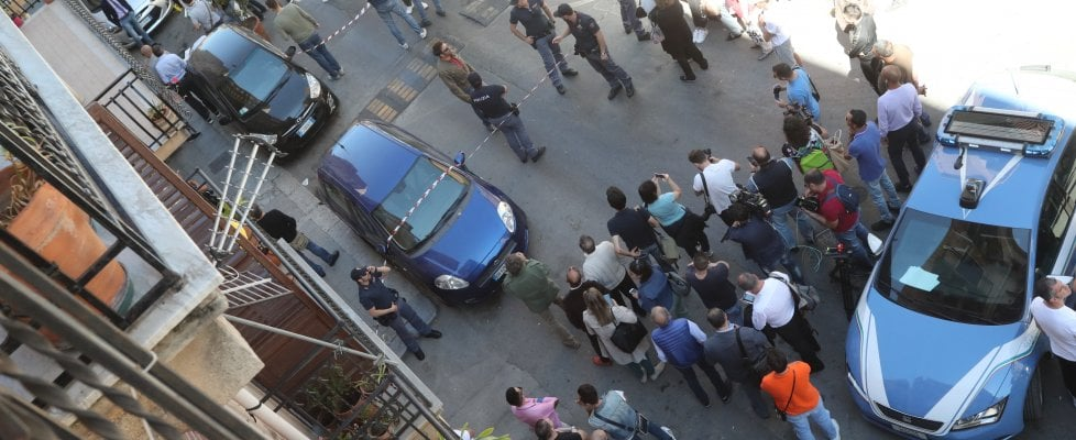 Palermo: agguato di mafia in via D'Ossuna, ucciso il boss Giuseppe Dainotti