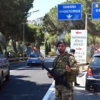 Telecamere e metal detector, Taormina blindata per il G7