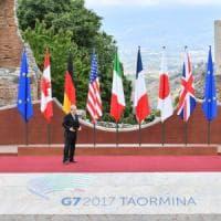 Il mondo guarda a Taormina, via al G7. La cerimonia inaugurale