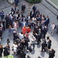 G7 Taormina: il pranzo delle first lady a Catania