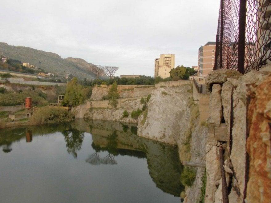 """Palermo: scompare il """"lago"""" di Tommaso Natale nato nella cava in disuso"""