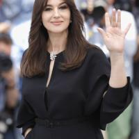 Monica Bellucci  a Taormina per