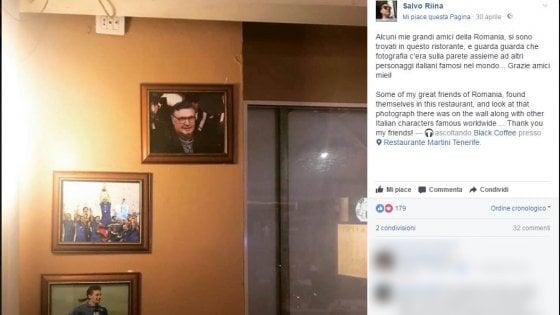 """""""Riina e Baggio italiani famosi"""". Il figlio del padrino esulta su Facebook"""