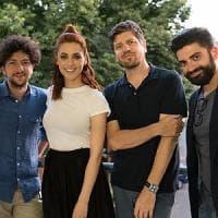 Miriam Leone accanto a Fabio De Luigi in