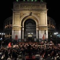 L'Orchestra sinfonica siciliana in piazza Ruggero Settimo, gli appuntamenti