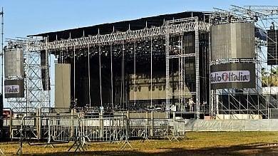 Foro Italico blindato per il concerto vietate anche le aste per i selfie   Le strade chiuse per lo show