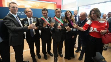 Aeroporto Falcone e Borsellino   foto   inaugurata la nuova area duty free e retail