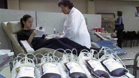 """Emergenza sangue a Palermo, l'appello: """"Servono donatori del gruppo zero"""""""