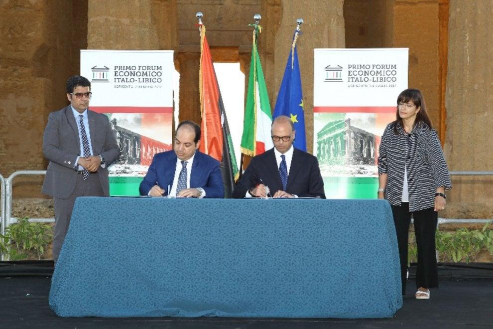 Ad agrigento il forum economico Italia-Libia