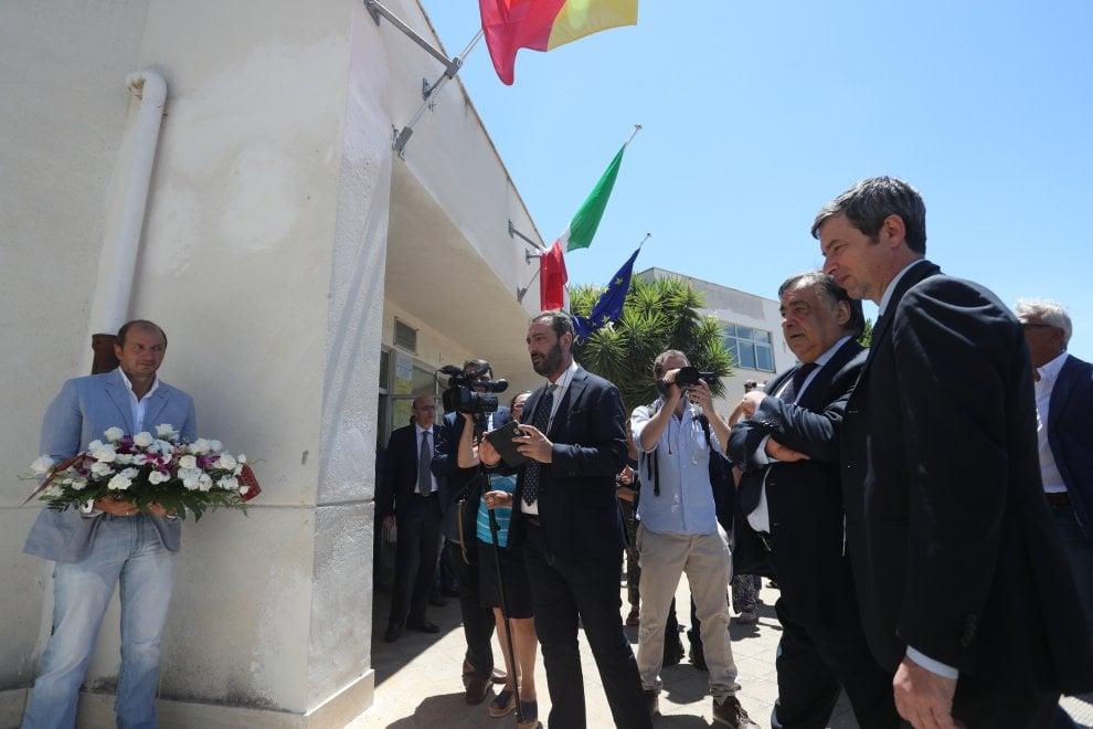 Palermo: il ministro Andrea Orlando alla scuola dello Zen