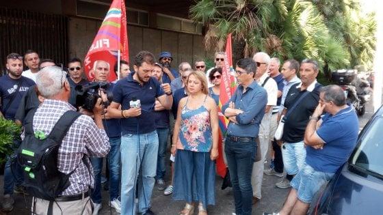 """Catania: sit in dei lavoratori ex Myrmex: """"Rischio speculazioni immobiliari"""""""