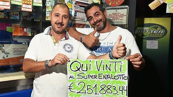 SuperEnalotto, a Genova un 5 da 40mila euro