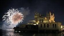 Ferragosto a Mondello i fuochi d'artificio