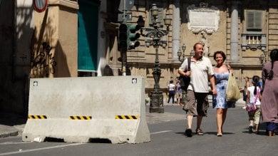 La Sicilia dopo l'attentato di Barcellona nuove barriere in corso Vittorio e nel centro