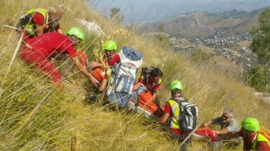 Monte Cuccio, ritrovato l'escursionista  FOTO / Le operazioni di soccorso  di IVAN MOCCIARO