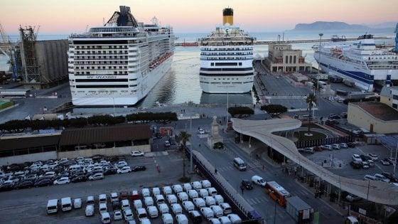 Palermo acqua per le navi da crociera rubinetti a secco for Piano nave costa fascinosa