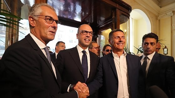 """Regionali Sicilia, Alfano annuncia: """"La Via sara' il vicepresidente di Micari, batteremo dilettantismo 5 stelle"""""""
