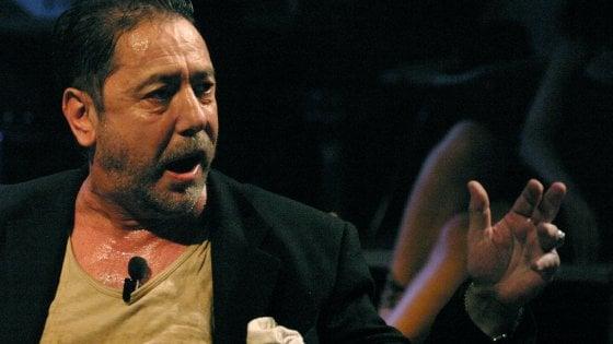 """Burruano, l'ultima intervista: """"Ho preso la vita a morsi non ho più voglia di fare teatro"""""""