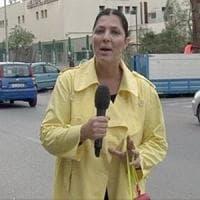 Palermo: aggredita la troupe di Striscia la Notizia, Stefania Petyx medicata
