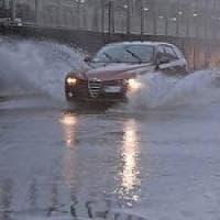 Palermo, violento temporale: allagamenti e disagi per gli automobilisti