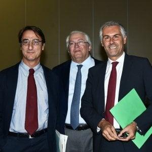 """Regionali Sicilia, Micari e Fava all'incontro con i medici di famiglia: """"Gli altri avversari scappano"""""""