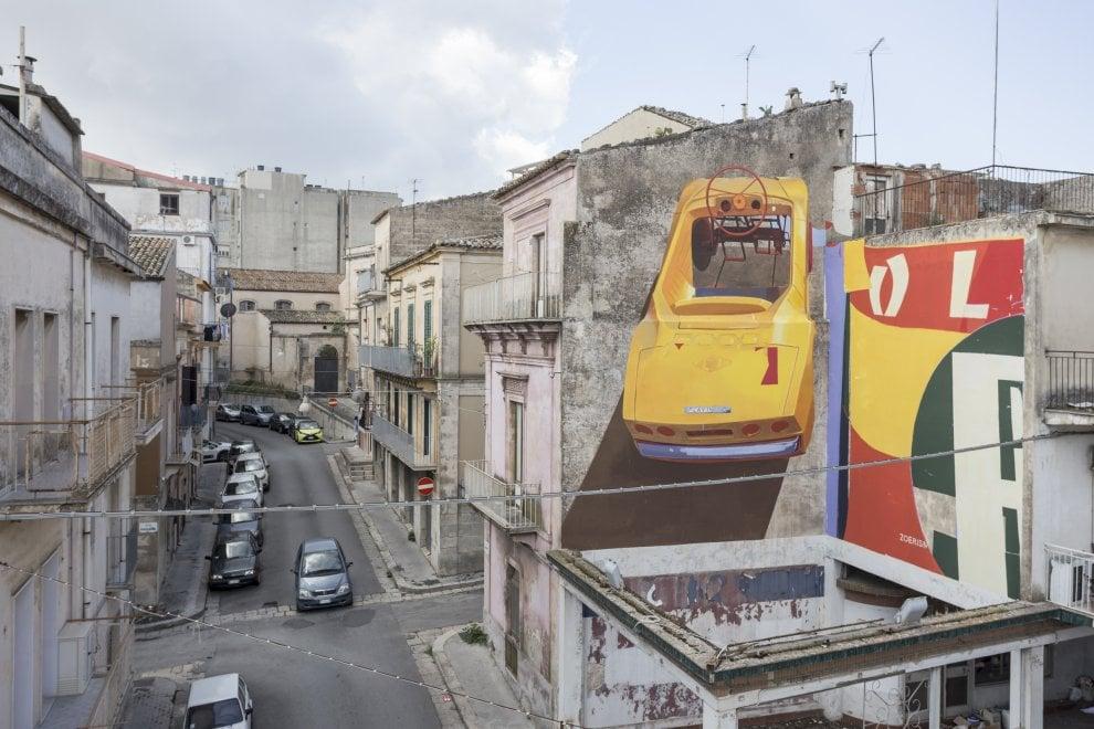 Il FestiWall di Ragusa per la street art