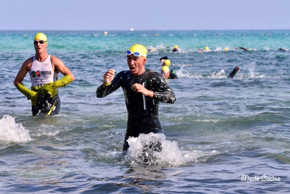 Triathlon a Mondello, le foto degli Iron men