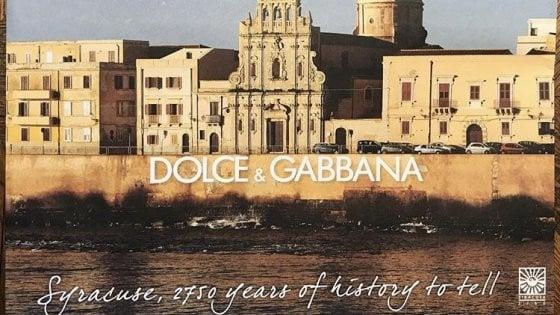La shopping bag Dolce&Gabbana per i 2750 anni di Siracusa