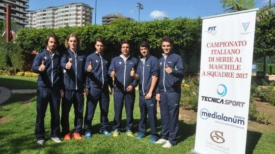 Tennis, presentata la squadra del CT 1