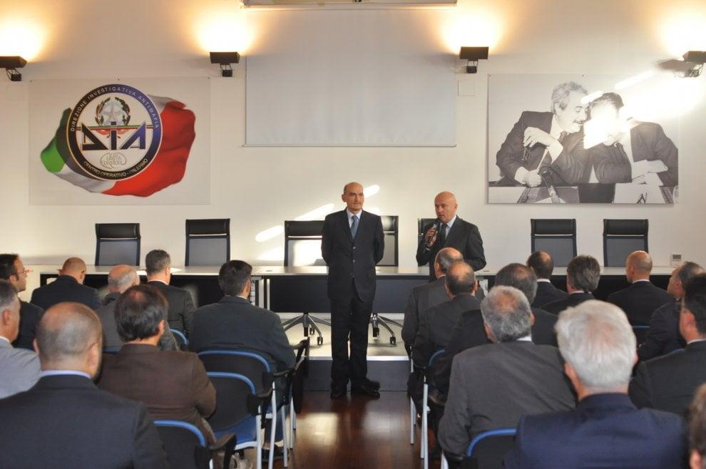 Il nuovo direttore della Dia in visita a Palermo