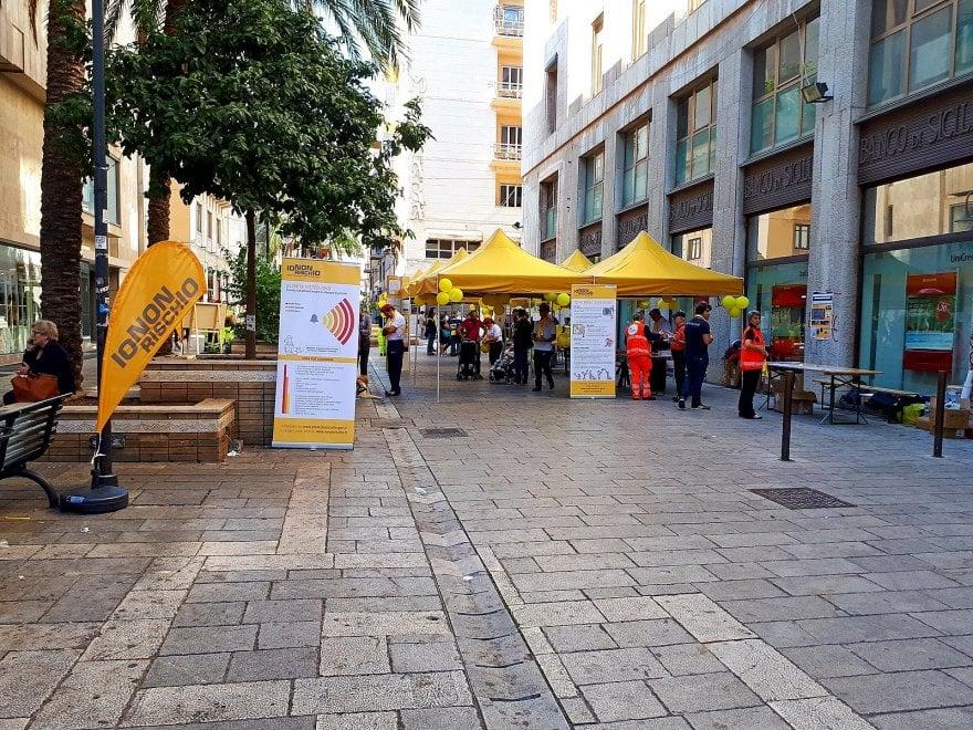 """Palermo, al via la campagna """"Io non rischio"""" della protezione civile"""