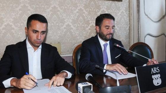 """Regionali Sicilia, Di Maio: """"Vogliamo gli osservatori Osce per le elezioni"""""""