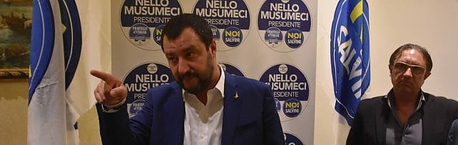 """Indagati e condannati candidati alle regionali  Salvini: """"Musumeci ha la sua lista, noi la nostra"""""""