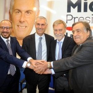 """Leoluca Orlando: """"Siamo tutti impegnati per Micari ma il Pd ostacola il cambiamento"""""""