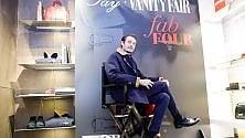 Palermo: Eros Galbiati all'evento moda di Dev