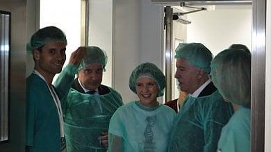 """Il ministro Lorenzin in visita a Trapani: """"Oggi la sanità siciliana sta meglio"""""""