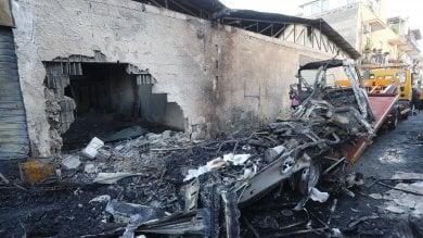Palermo, quattro vigili del fuoco feriti in un'esplosione
