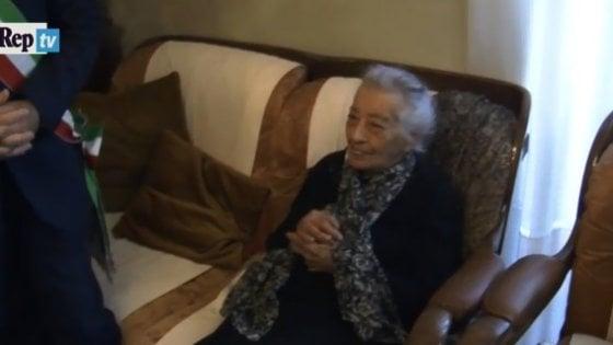 Canicattì, la maestra più anziana d'Italia: spegne oggi 112 candeline