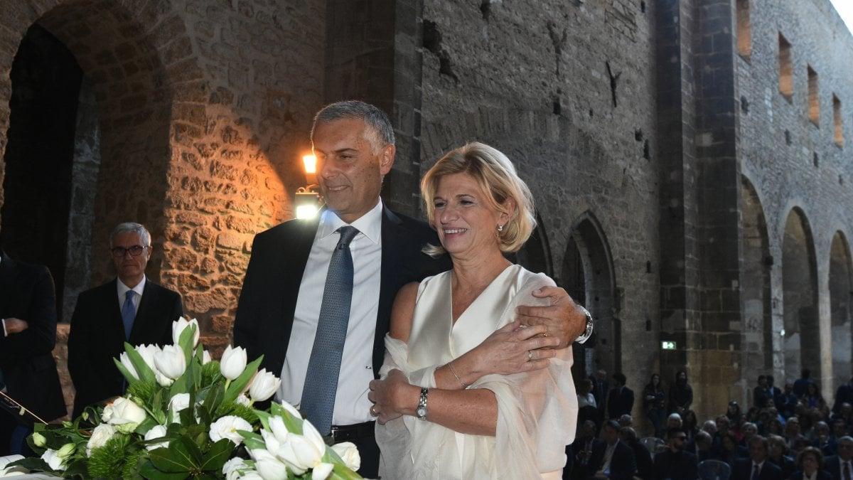Auguri Matrimonio Siciliano : Palermo le nozze di micari allo spasimo quot dopo il