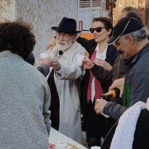 Ramazzotti e Carpentieri, ciak al teatro Massimo