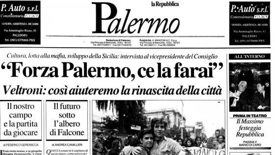 Repubblica Palermo, il nostro racconto lungo vent'anni