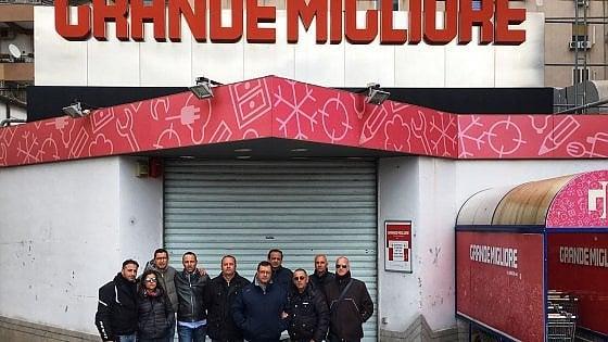 Palermo: sit in di protesta dei dipendenti Grande Migliore