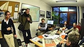 Vent'anni di Repubblica Palermo Una giornata in redazione con Pif