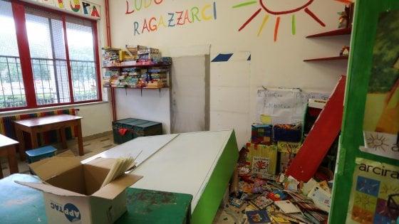 Palermo, dopo l'ultimo raid chiude la ludoteca di Borgo Nuovo