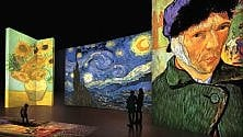 Viaggio multimediale  nelle opere di Van Gogh