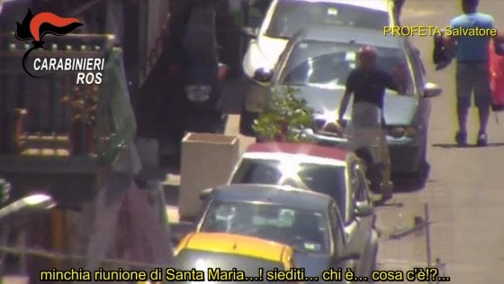 Blitz antimafia a Palermo